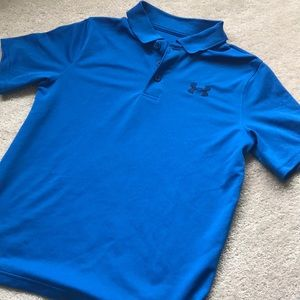 Youth Under Armour size large polo.